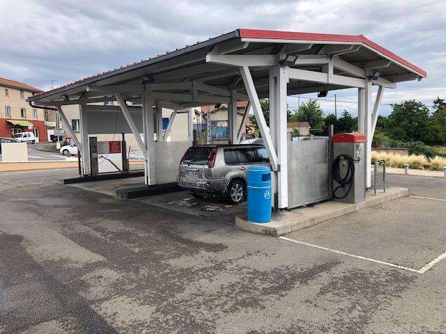 Station de lavage garage des Rossandes